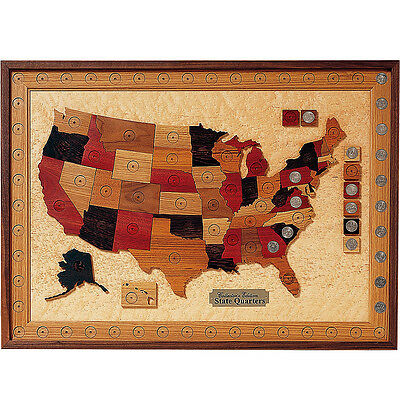 U.S. States Quarter Collection Board Plan