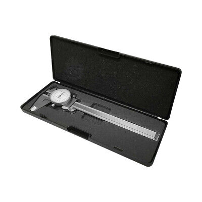 150mm Precision Metric Dial Caliper 0.02mm Stainless Steel Graduation Shockproof