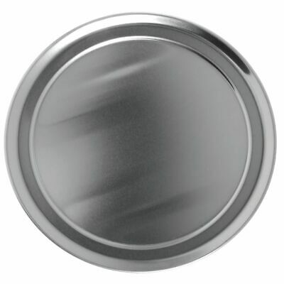 Hubert Pizza Pan With Wide Rim Round Aluminum - 10dia