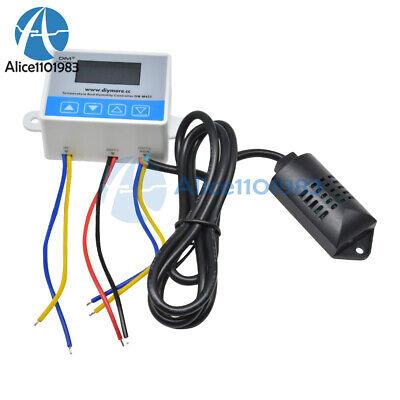 Dc12v M452 Digital Temperaturehumidity Controller Sht20 Sensor Dual Lcd Display
