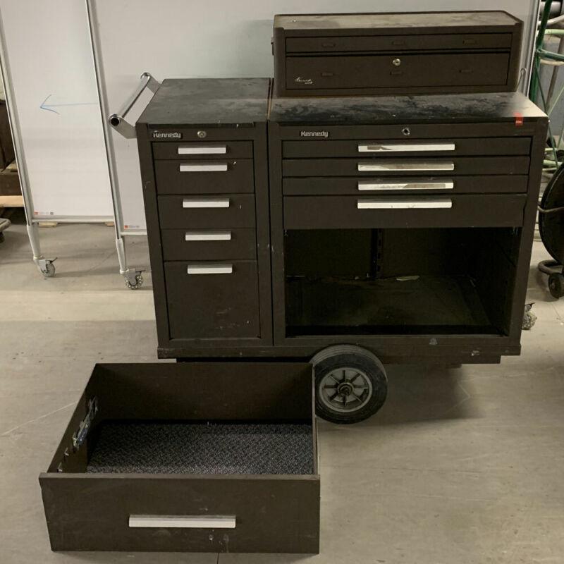 "Kennedy ""Versa Cart"" Custom Rolling Tool Chest - 11 Drawers"