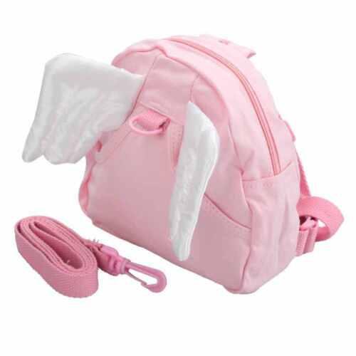 Children infant Toddler Kid Angel Wings Walker Assistant Safety Backpack Harness