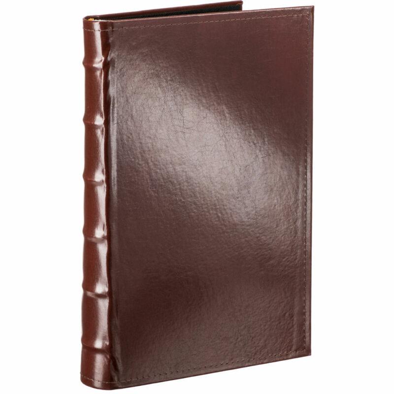 Pioneer 4x6 Bonded Leather Bi-Directional Le Memo Pocket Album Brown 300 Photos