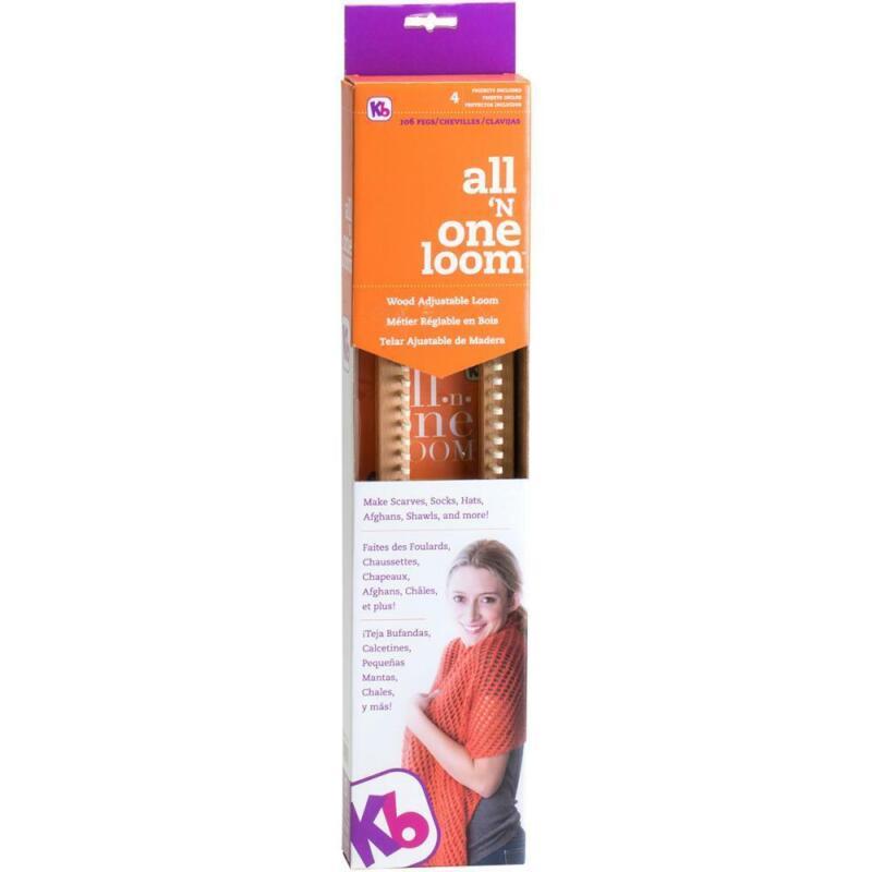 All 'n One Loom - 106 Peg Adjustable Knitting Loom