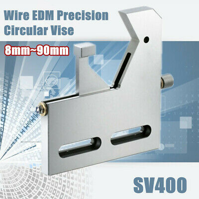 Wire Edm Precision Circular Vise Stainless Steel Clamp Diameter 8 Mm 90 Mm