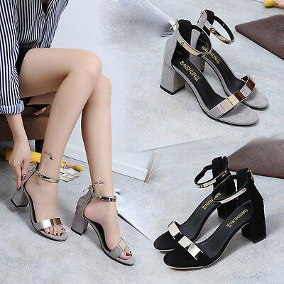 Women Summer Sandals Open Toe Flip Flip Sandles Thick Heel Platform Wedge Shoes