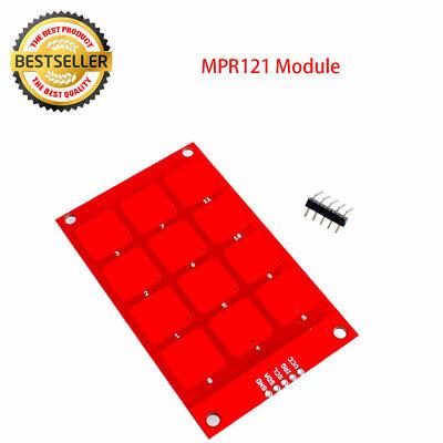 For Arduino Mpr121 Capacitive Touch Keypad Shield Module Sensitive Key Keyboard