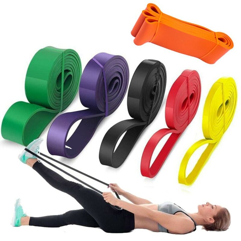 Pull Up Resistance Bands Assist Exercise Workout Band Set for Fitness Strength~