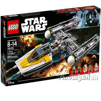 NEW Lego Star Wars Rogue One 75172 Y-wing Starfighter - Factory Sealed Brand NEW