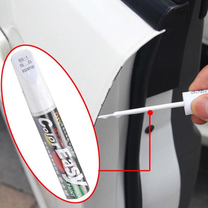1X Car Paint Repair Pen Scratch Remover Touch Up Clear Coat Applicator Fix Tool