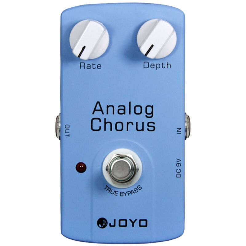 Joyo JF-37 Analog Chorus Guitar Effects Pedal w/ True Bypass & BBD Chip