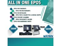 Epos system with warranty for Retail ,Vape Shop Hospitality Takeaway