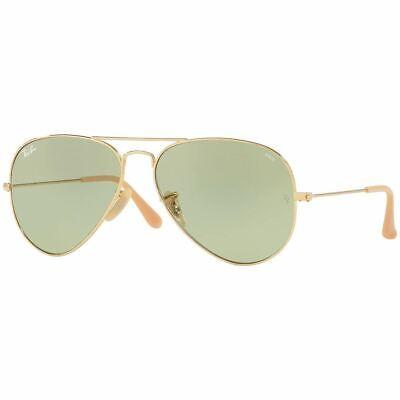 Authentic Ray Ban Aviator Evolve Sunglasses w/Green Photochromic RB3025 (Ray Ban Aviator Photochromic)