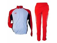 Mizuno Pro Team Tracksuit Knit Spect 60KK81062 White/Red/Navy Brand New