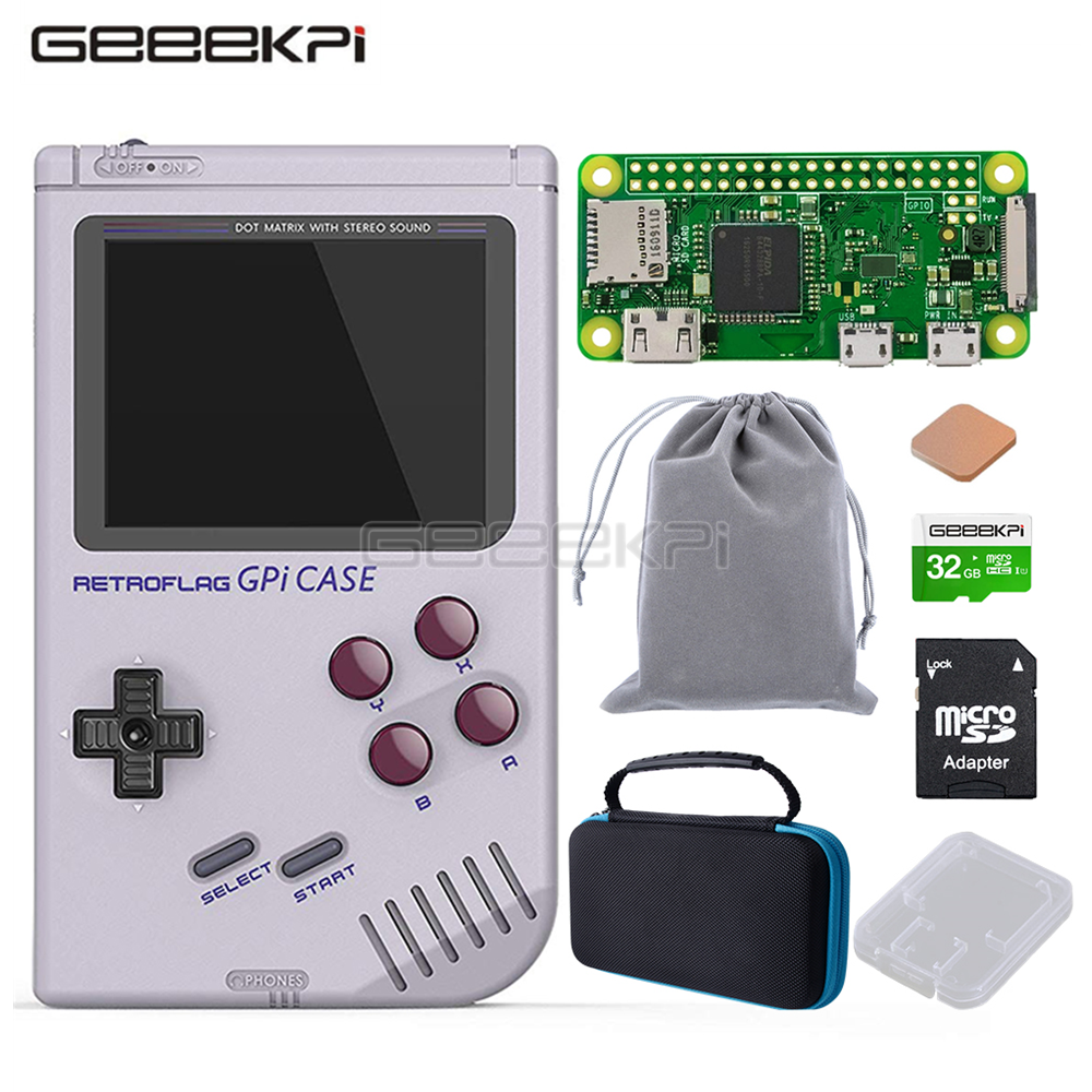 GeeekPi In Stock! Original Retroflag GPi CASE Kit For Raspbe