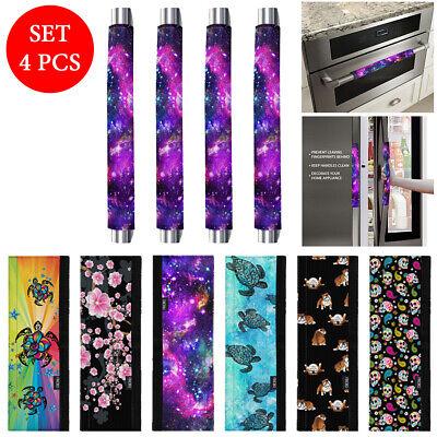 4 PCS Oven Refrigerator Door Kitchen Appliance Handle Cover