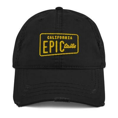 Epic Tails Logo'd Distressed Dad Hat