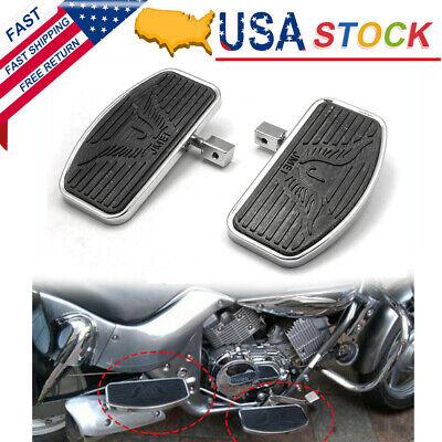 New Refit Rear Passenger Floorboards Foot Pegs for Honda Shadow ACE VT750 VT400