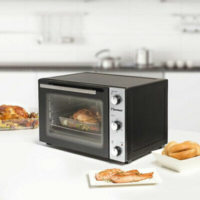1500W Mini Parrilla Trasera Pizza Horno Giratorio Pica Recirculación Ober Bajo