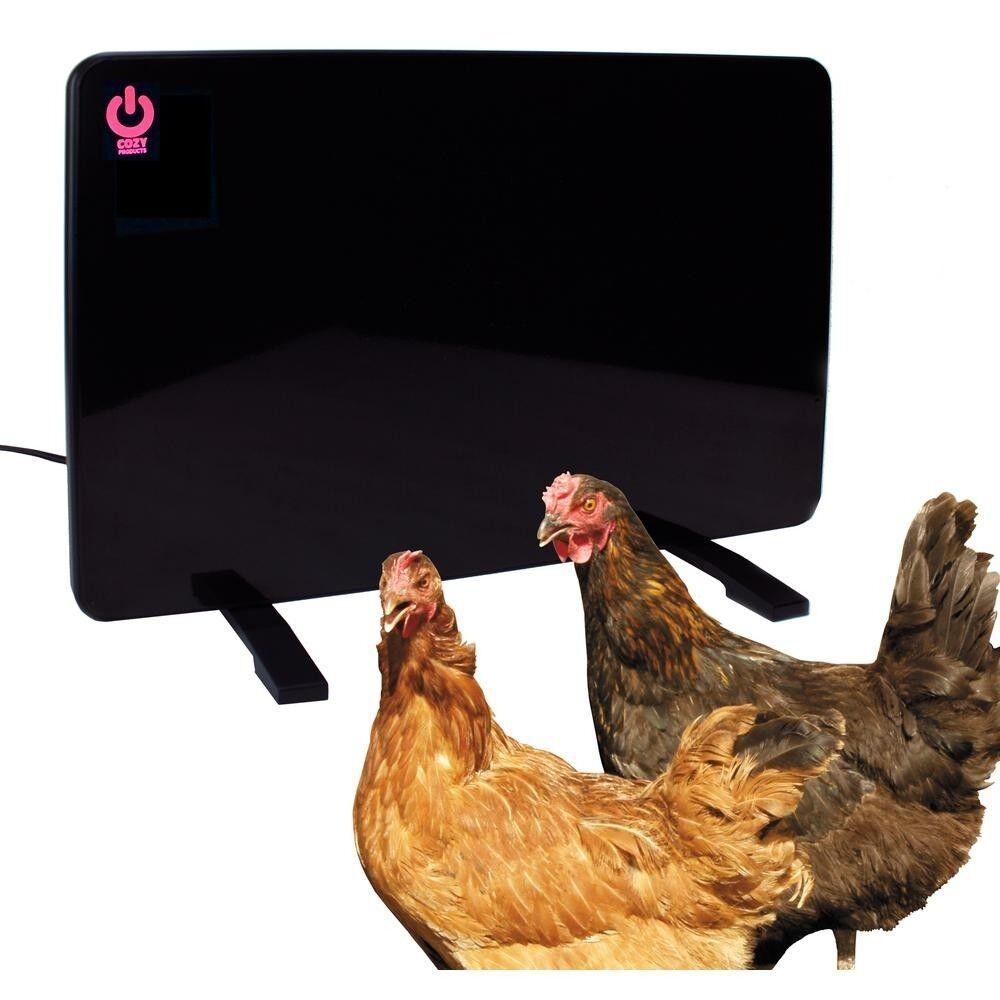 Chicken Coup Heater Flat Panel 200 Watt Safe Mountable Radia