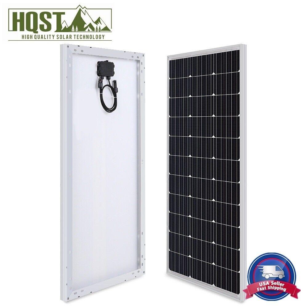 10W 20W 30W 50W Watt Mono Solar Panel 12V Volt Off Grid PV P