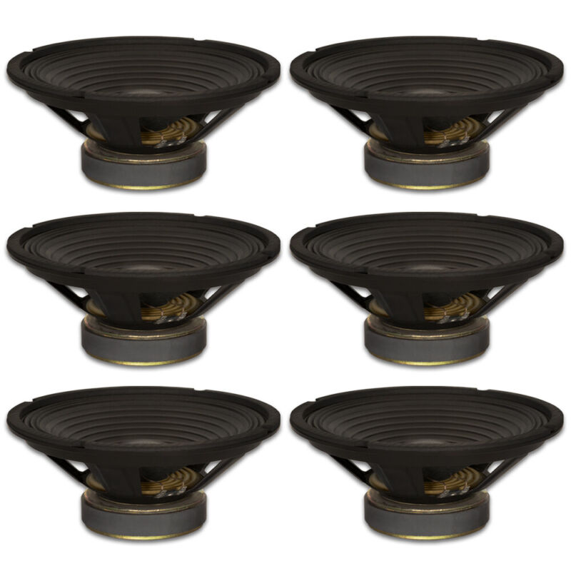 "6 Goldwood Sound GW-1038/PA 10"" Woofers 30oz Magnets 210 Watts each Speakers"
