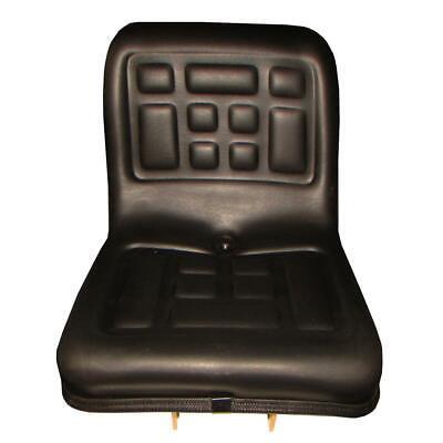 Compact Tractor Flip Seat W Brackets Fits Ford Kubota Yanmar Satoh Mitsubishi