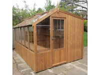 Wanted - NEW or Used Potting Shed or Greenhouse10 x 6 or 8 x 6 Cash Waiting
