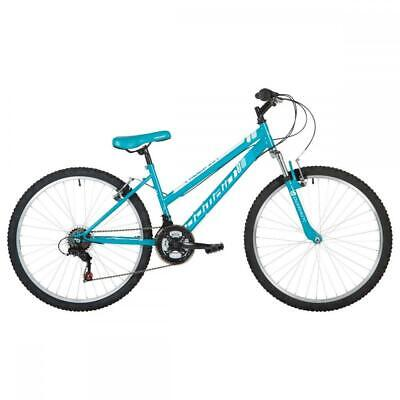 "Freespirit Domain Plus Ladies Mountain Hybrid Bike 26"" Wheel Bicycle 18 Spd Teal"