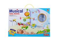 Nursery Cot Mobile with Auto Music