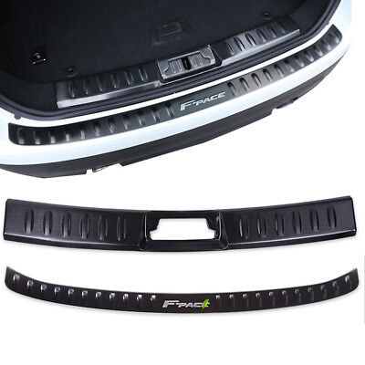 Black Metal Trunk Guard Skid Plate For Jaguar F-PACE 2016~2018 for sale  Shipping to Canada