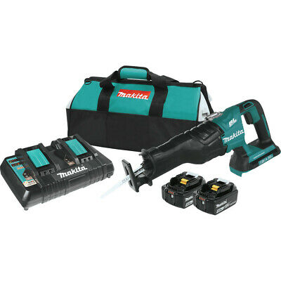 Cordless Recipro Saw Kit - Makita Brushless Cordless Recipro Saw Kit (5.0Ah) XRJ06PT-R Recon