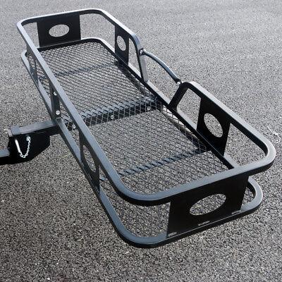 500lbs Folding Cargo Carrier Luggage Basket 2