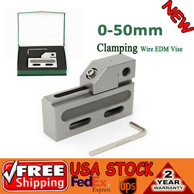 Precision Stainless Steel Edm Vise W2 Inch Jaw Opening Clamping 0-50mm New