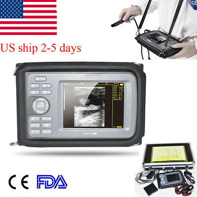 Veterinary Handheld Ultrasound Scannerunit Machine Ultrasonography Equinecow