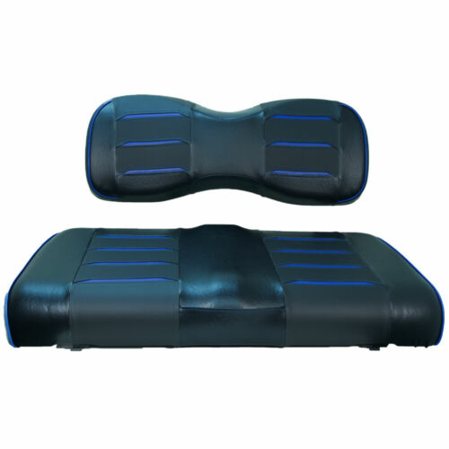 BU Prism Front Seat Covers for EZGO TXT, RXV, Valor, Freedom, Express Golf Carts