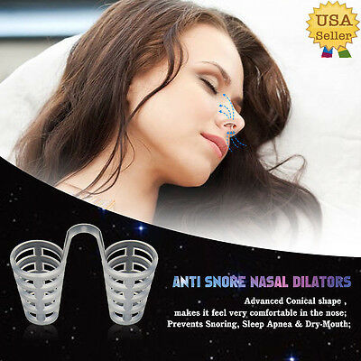 Stop Snoring Cones Breathe Easy Congestion Aid Anti Snore Stopper Nasal Dilator