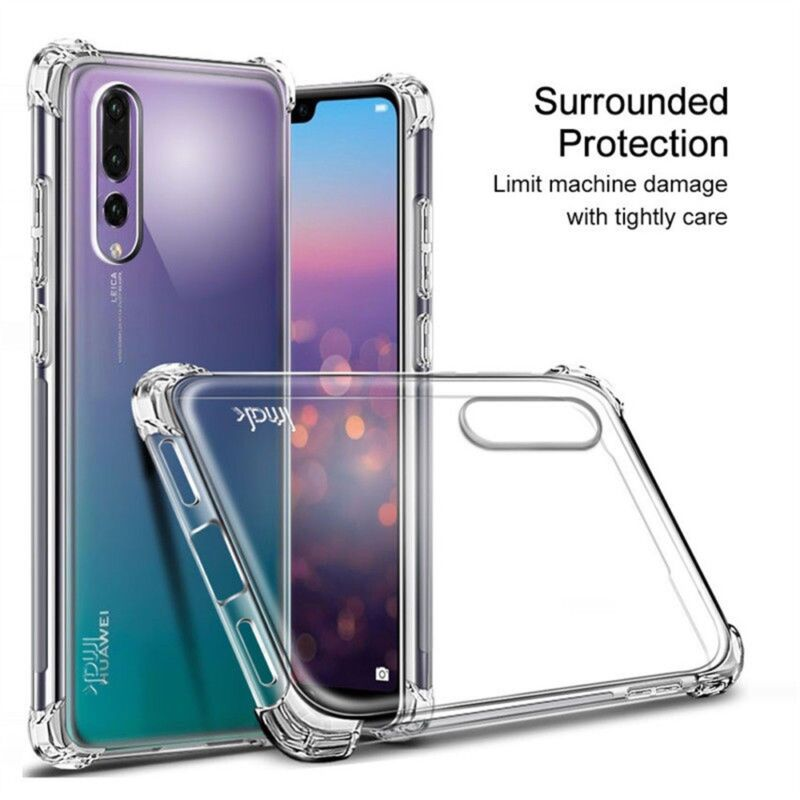 TPU Case Cover Silicone Clear For Huawei P20 Lite Honor 10