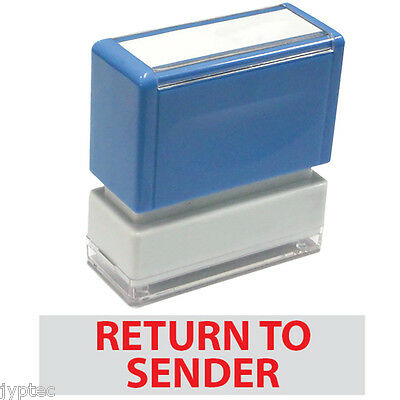 """JYP PA1040 Pre-Inked Rubber Stamp with """"Return To Sender"""""""