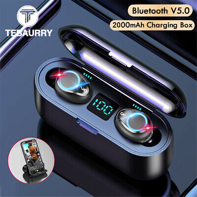 TWS Wireless Headset in-Ear Pods TOUCH LED Bluetooth 5.0 Earbuds Headphones IPX6