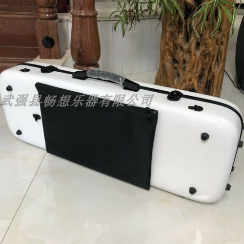 "Beautiful white Glass fiber viola case 15""-17 inch,Music bag"