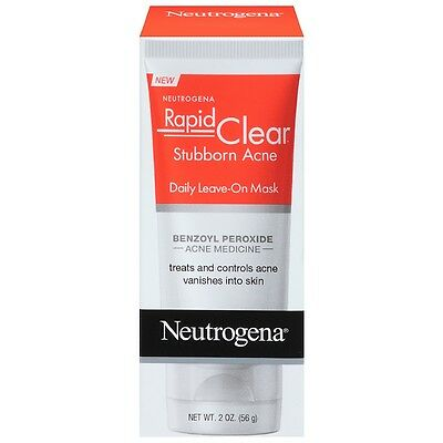 Neutrogena Rapid Clear Stubborn Acne Daily Leave-On Mask 2 oz