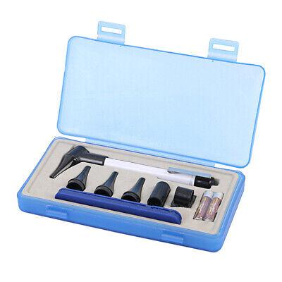 Led Flashlight Medical Diagnostic Earcare Otoscope Ear Speculum Tool Kit