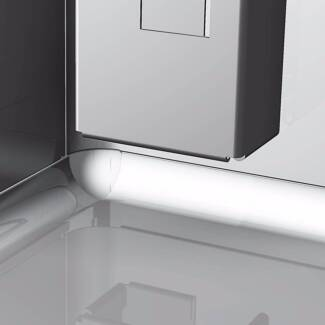 AG 3 Door Italian Worktop Fridge Stainless Steel Commercial Refri
