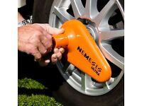 Fullstops security Thatcham Approved caravan wheel lock
