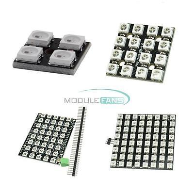 4 16 40 64 Bit Ws2812 Matrix Led 5050 Rgb Full-color Driver Board For Arduino