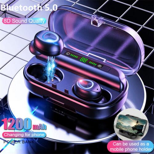 Wireless Earbuds V10 Bluetooth 5.0 Waterproof Mini TWS Earphone Stereo Headset Consumer Electronics
