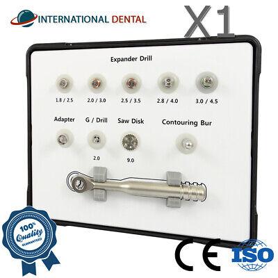 Dental Implant Bone Expander Drill Bur Split Wide Ridge Expansion Surgical Kit