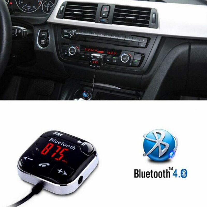 Car Charger Kit Bluetooth Wireless Magnetic FM Transmitter A