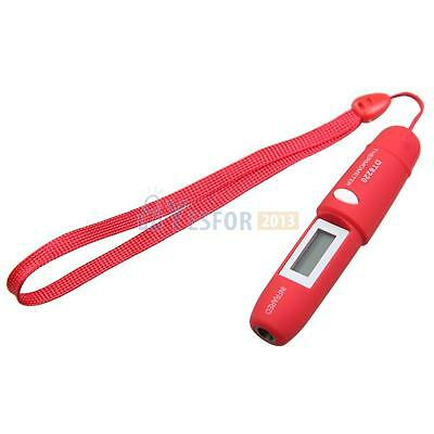 Mini Pen Type Non-contact Infrared Ir Digital Lcd Thermometer With Battery 3ye